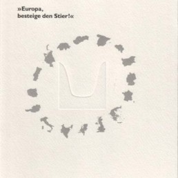 Katalog »Europa, besteige den Stier!«