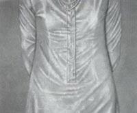 Gutes Kleid 1974/75, 130 x 165 cm