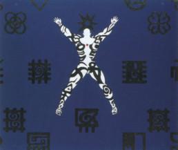 Owusu-Ankomah Azra (Sky Entity) 1997/98 Acryl auf Segeltuch 200 x 240 cm