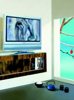 BEEBY, TIM >Hiroshima mon Amour< 2005 Öl auf Leinwand 135 x 100cm Besitz des Künstlers