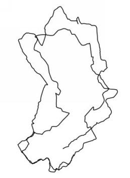 Laitinen, Antti *1975 >o.T.< 2006 GPS-Zeichnung und C-print 2-teilig, 90 x 65 cm und 26 x 19 cm Besitz des Künstlers