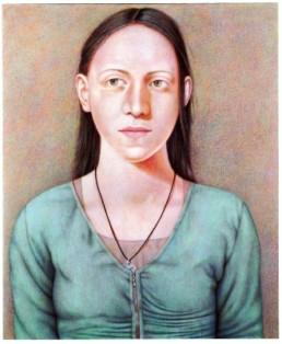 Ritter, Susanne *1945 »Duygu«, 2006 Eitempera, Acryl auf Leinwand 120 x 100 cm Besitz der Künstlerin