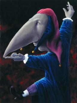 Weigand, Eiko *1956 »Der Spanische Elefant«, 1997 Öl auf Leinwand 150 x 110 cm Besitz des Künstlers