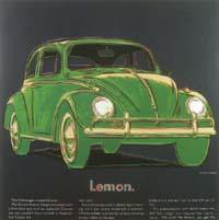 Warhol, Andy *1928 'Lemon', o. J. Serigraphie/6-farbig/ Exemplar VII/X 96x96cm AutoMuseum Volkswagen, Wolfsburg