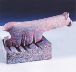 Otto Almstadt 'Molar' Granit 1993 81x41x44 cm