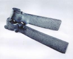 Otto Almstadt 'Zweisam' diabas 1993 110x40x15 cm