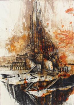 Galerie Robert Drees - Diaz Sosa_Gustavo - De la serie Huerfanos de Babel